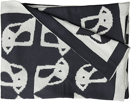 Lolli Living Mod Jacquard Knit Blanket, Penguin