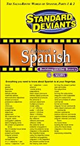 Standard Deviants: Advanced Spanish Video Box [VHS]