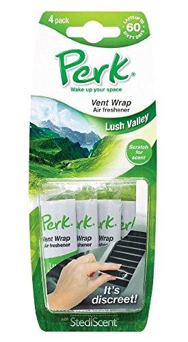 Perk Vent Wrap Lush Valley 4-pak vent air freshener (CTK-52207-24)