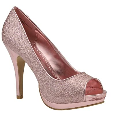 Rampage Women's Gracee Platform Pump  Amazon.com