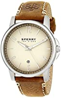 Sperry Top-Sider Men's 10018701 Seasider Analog Display Japanese Quartz Brown Watch from Sperry Top-Sider Watches MFG Code