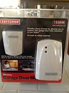 Amazon Com Craftsman Wireless Garage Door Monitor 53696