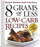 8 Grams or Less Low Carb Recipes