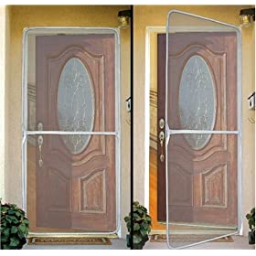 Temporary Screen Door Exterior