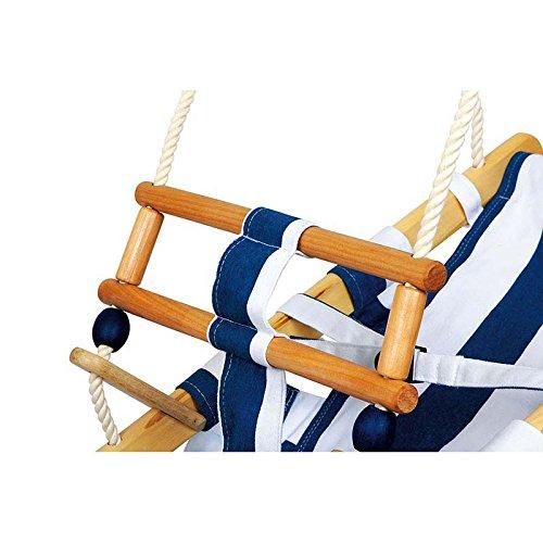 kinderschaukel aus holz im maritimen stil f r kinder ab 2. Black Bedroom Furniture Sets. Home Design Ideas