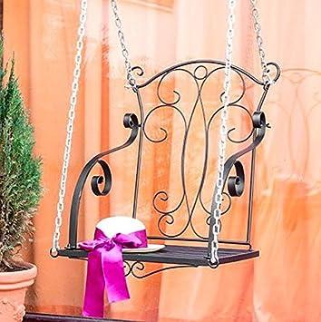 hobea-germany Relax BALANCÍN con cadenas colgantes Banco Jardín Columpio columpio
