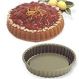 Norpro Nonstick 8.5 Inch Fluted Round Tart Cake Pan