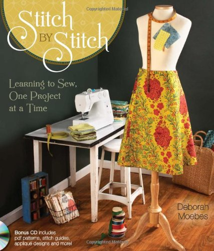Stitch By Stitch: Learning To Sew, One Project At A Time front-769593