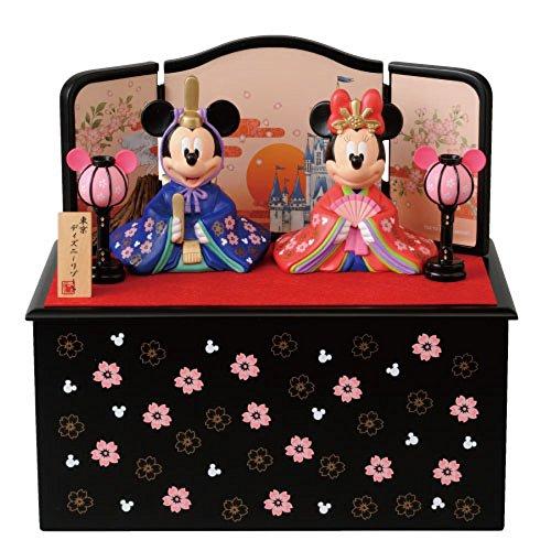ディズニー 東京ディズニーリゾート 2014雛祭り ミッキーとミニーのひな人形(台付き)