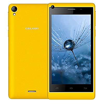 Celkon Millennium Vogue Q455 (Yellow)