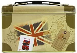 New English Teas Travel Collection English Breakfast Suitcase (Pack of 1, Total 20 Teabags)