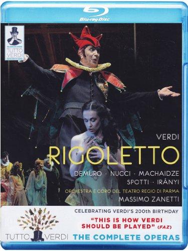 Tutto Verdi: Rigoletto (Teatro Regio di Parma) [Blu-ray]