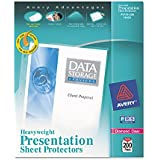 Avery Diamond Clear Heavyweight Sheet Protectors, Acid Free, Box of 200 (74400) (2, Pack of 200)
