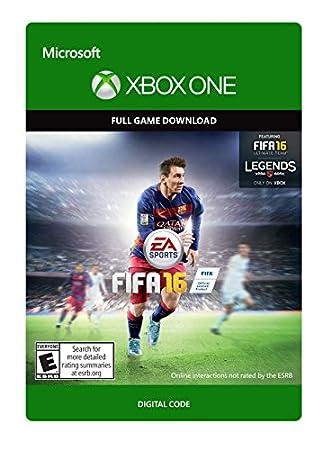 FIFA 16 Standard Edition - Xbox One [Digital Code]