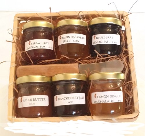 Gourmet Jam MIni Sampler Gift Basket