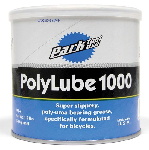 Park Tool PPL-2 Polylube 1000 Grease Tub (1 Lb)