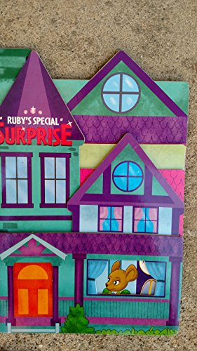 Ruby's Special Surprise Cut-out Shaped Board Book - 1