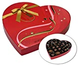 Pot of Gold Valentines HERSHEYS POT OF GOLD Premium Collection Red Ribbon Heart Box, 8.9 Ounce