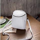 Generic Crossbody Bag For 5. 5-inch Smartphone- White