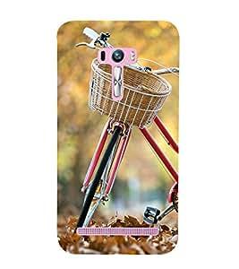printtech Park Bike Back Case Cover for Asus Zenfone Selfie::Asus Zenfone Selfie ZD551KL
