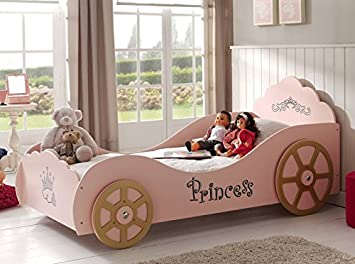 Smartbed - Lit Princess Pinky Smart Bed 90 X 200