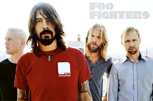 FOO FIGHTERS-POSTER Group Shot RARE, 24 x 36 cm