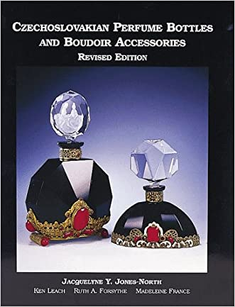 Czechoslovakian Perfume Bottles and Boudoir Accessories,