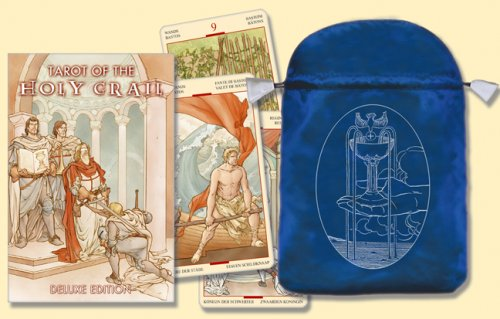 Tarot of the Holy Grail/Tarot del Santo Grial [With Satin Bag]