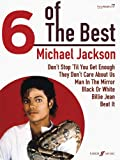 Michael Jackson: 6 of the Best (Piano, Vocal, Guitar)