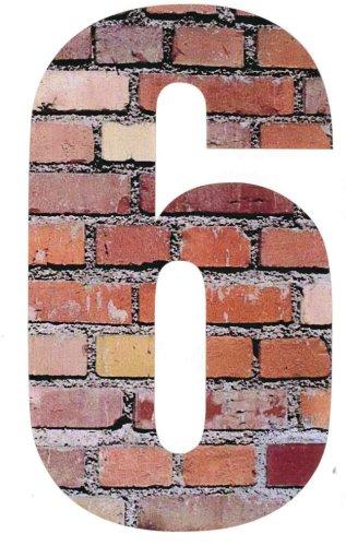Wheelie Bin Numbers Brick 6