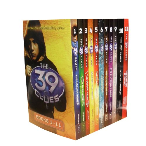The 39 Clues Collection 11 Books Set Pack Plus 66 Digital Game Cards Find Codes (39 Clues Collection compare prices)