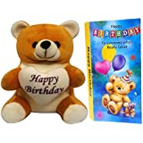 Birthday Gift - Happy Birthday Teddy & Birthday Greeting Card