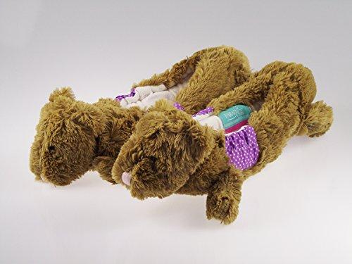 Protge-lame-mouse-patin-artistiqueMarque-Paradice-Modle-unique-ourson-beige-Vient-avec-serviette-pour-essuyer-les-lames