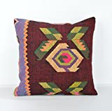 Decorative Pillows, KP799, Designer Pillows, Kilim pillow, Bohemian Decor, Wool Pillow, Bohemian Pillow, Accent Pillows, Throw Pillows