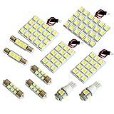 【断トツ288発!!】 ACU/GSU/MCU30系 ハリアー LED ルームランプ 11点 [H15.2~H25.11] トヨタ 基板タイプ 圧倒的な発光数 3chip SMD LED 仕様 室内灯 カー用品 HJO