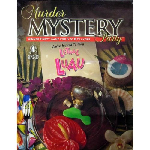 Murder Mystery Party - Lethal Luau game
