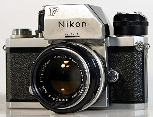 NIKON F BODY W/ 50MM F/1.4 LENS AND AS1 ACCESSORY SHOE