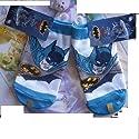 1 Pair Bat-man Tube Socks Boys 6-8.5