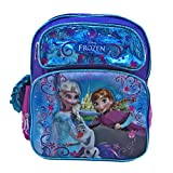 Ruz Disney Frozen Elsa and Anna Small Backpack Bag
