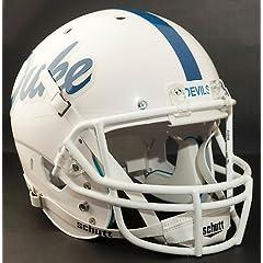 DUKE BLUE DEVILS 1985-1993 Schutt AiR XP Authentic GAMEDAY Football Helmet by ON-FIELD