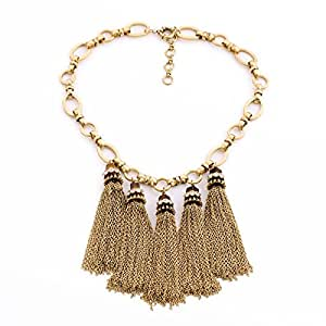 Necklace Collares Mujer Fashion Big Pendants Choker Necklace: Jewelry