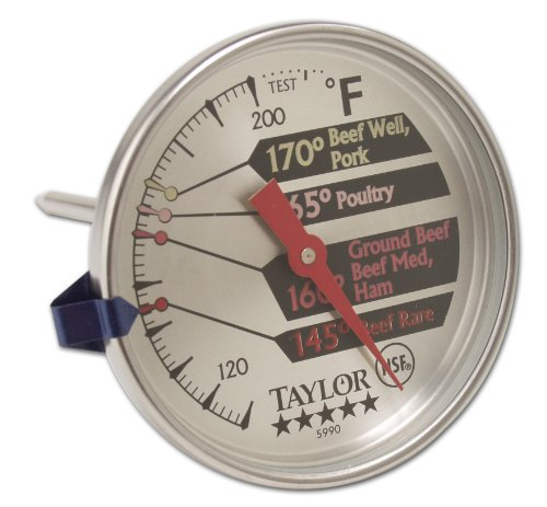 Taylor Precision Products Pro Meat Thermometer (Taylor 5990 Meat Thermometer compare prices)