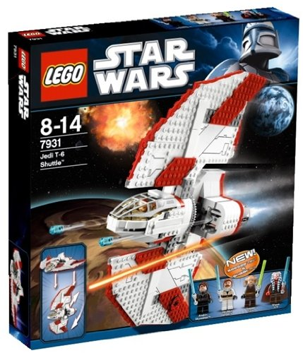 LEGO Star Wars 7931 : T-6 Jedi Shuttle