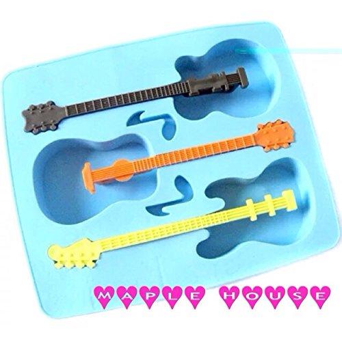 ユニーク!!ギター型製氷機 アイス 氷 チョコ型