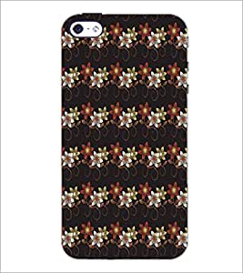 APPLE IPHONE 4 FLOWER PATTERN Designer Back Cover Case By PRINTSWAG