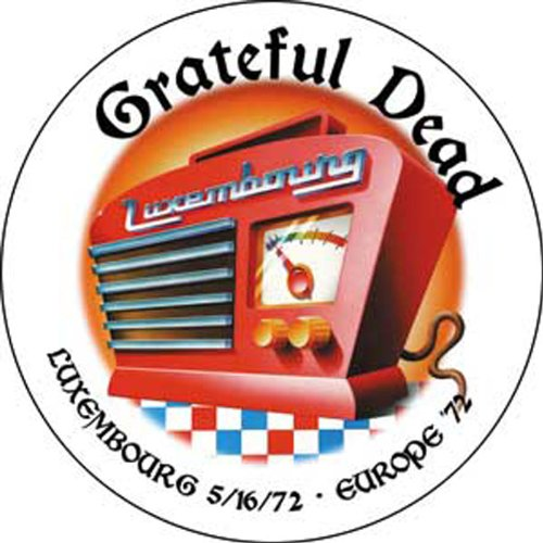 Licenses Products Grateful Dead Luxembourg '72 Magnet - 1