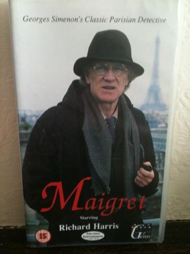 Maigret [VHS]: Richard Harris, Patrick O'Neal, Victoria Tennant