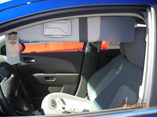 1 Pair Side Window Sun Visor Extenders For Gm Car Owners (Not New Camaro Or Trucks) front-976223