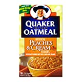 Quaker Oatmeal Peaches & Cream
