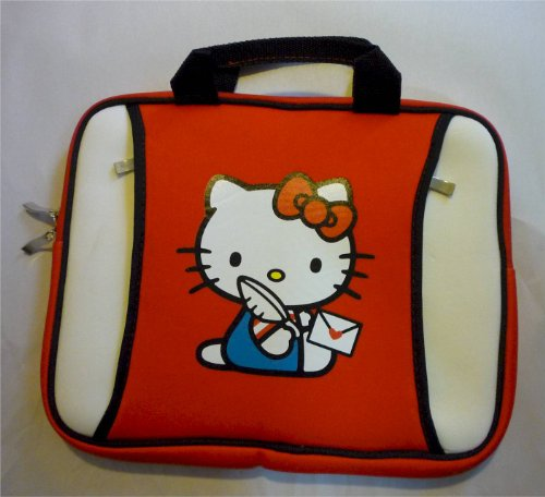 Hello Kitty Netbook Neoprene Case Fit to 12 Spread